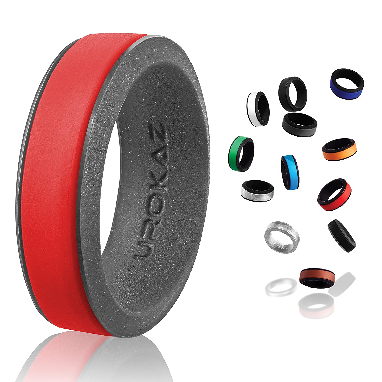 Amazon Women s Silicone Wedding Band Safe and Durable