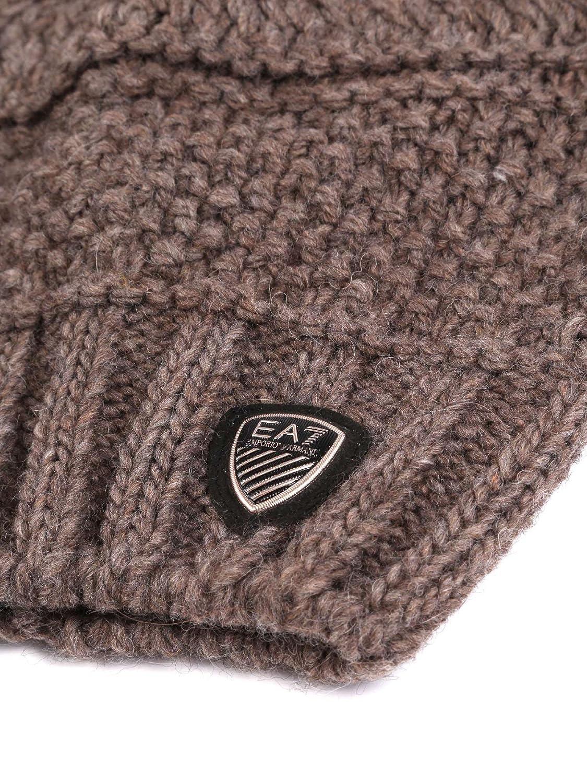 Emporio Armani Ea7 285400 7A734 Cappello Accessori Tortora M  Amazon.it   Abbigliamento c4f4bfe2c39a
