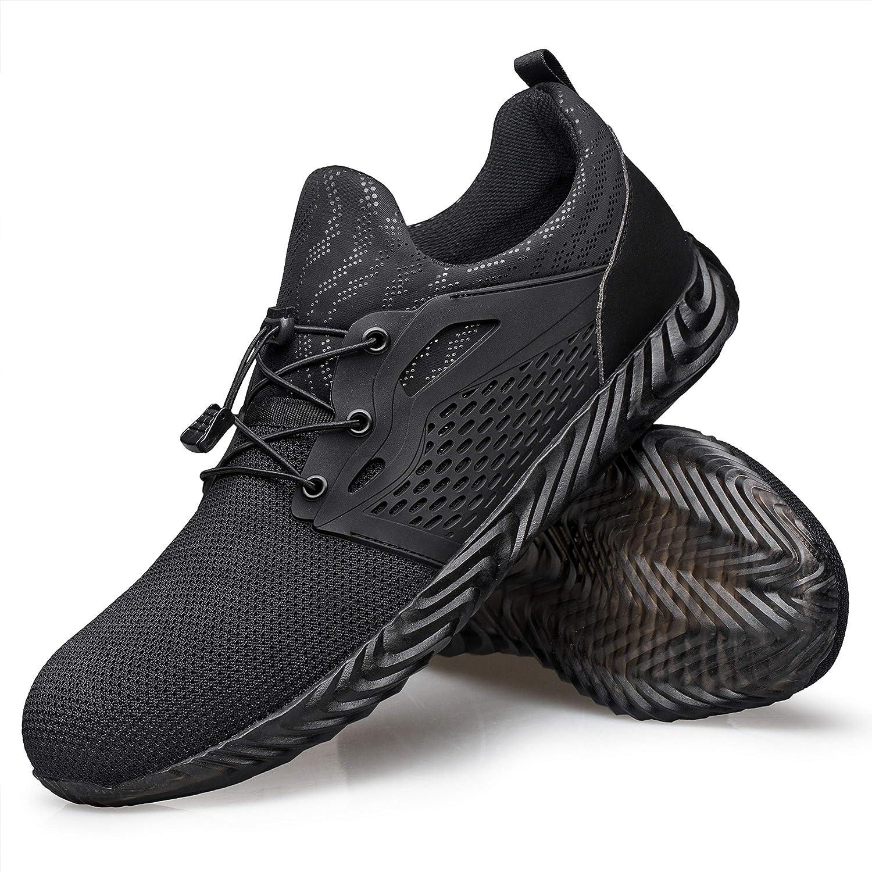 Steel Toe Shoes Men Indestructible Work Safety Shoes Women Composite Toe Shoes Industrial Construction Shoes