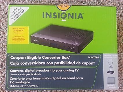 amazon com insignia ns dxa1 digital to analog tv tuner converter rh amazon com Insignia NS Sub insignia ns-dxa1-apt user manual
