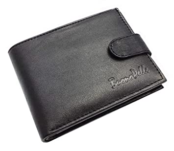 Designer BUONO PELLE Real Leather Mens Wallet Credit Carder Holder Bifold  Purse With Gift Box 6d10e69b259