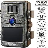 Campark Caméra de Chasse 14MP 1080P HD Trail Camera avec 44pcs 940nm IR LEDs Caméra de Jeu Vision Nocturne jusqu'à 65 pieds/20m Imperméable IP66 protégé de l'eau