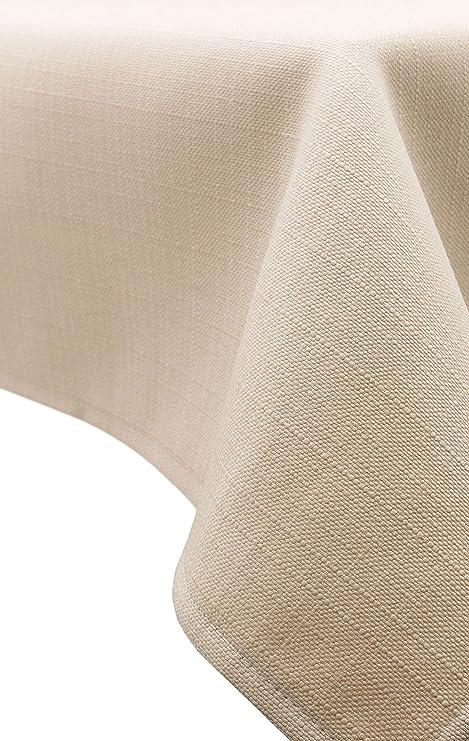 ZOLLNER® Mantel/Mantel Rectangular Antimanchas resinado, Color Sahara, Medidas 140x180 cm, Medidas, del especialista en Textiles para hostelería, ...