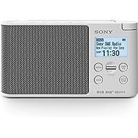 Sony XDR-S41D Radio Portable Digitale DAB/ DAB+/ FM RDS Blanc
