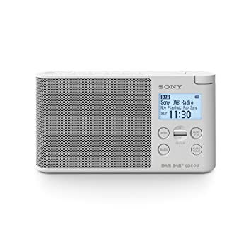 Sony XDRS41D tragbares Digitalradio (LCD-Display, Wecker, DAB, DAB+ ...