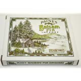 Incense & Burner Comes with 32 Balsam Fir Cones to Burn Wood Holder Lodge Style