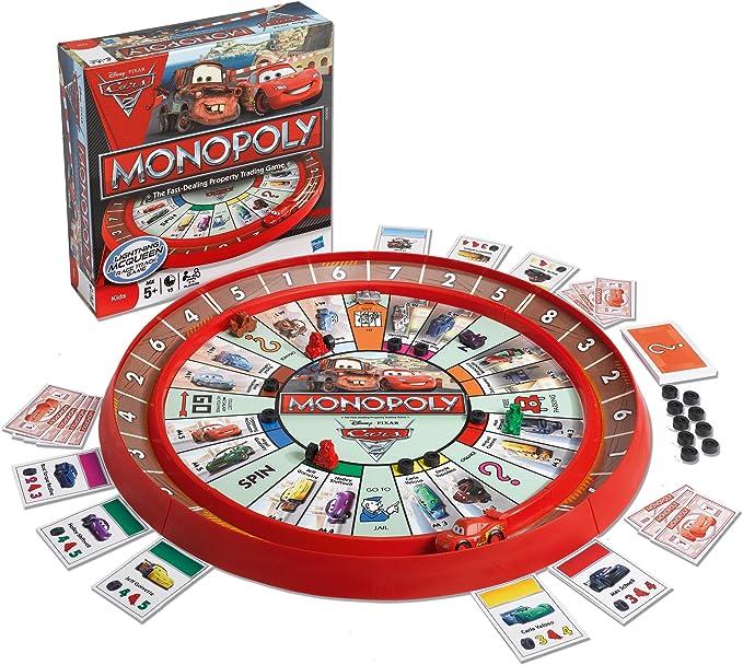 Monopoly Cars 2 Race Track Game: Amazon.es: Juguetes y juegos