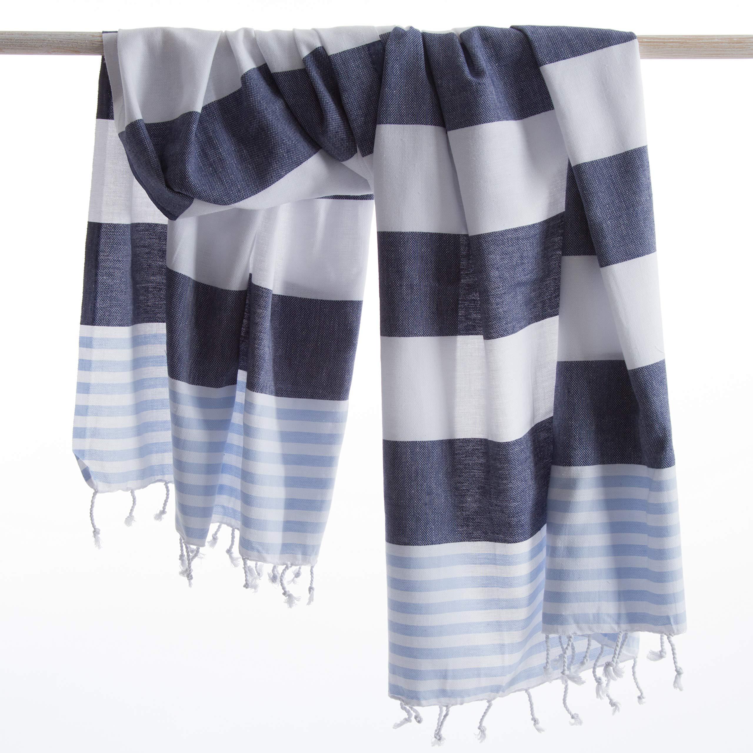 ANATURE Marina Toalla de Hammam - 100% algodón - prewashed - Super Suave - directa
