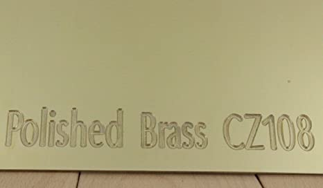 23 sizes to choose from 0.7mm Thick Brass Sheet Plate 150mm x 150mm