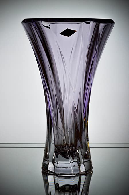 Amazon Czech Bohemian Crystal Glass Vase 12 H Oklahoma