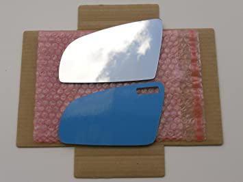 Flat Driver Left Side Replacement Mirror Glass for 2006-2008 Audi A3