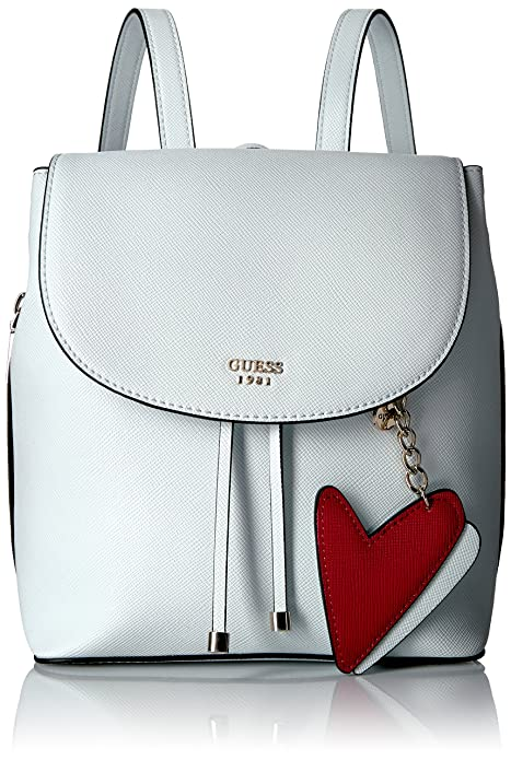 taglia 40 a3c2b 8e9e7 Guess Pin Up Pop, Zaino Donna, Bianco, 13.5x28x28 cm (W x H ...