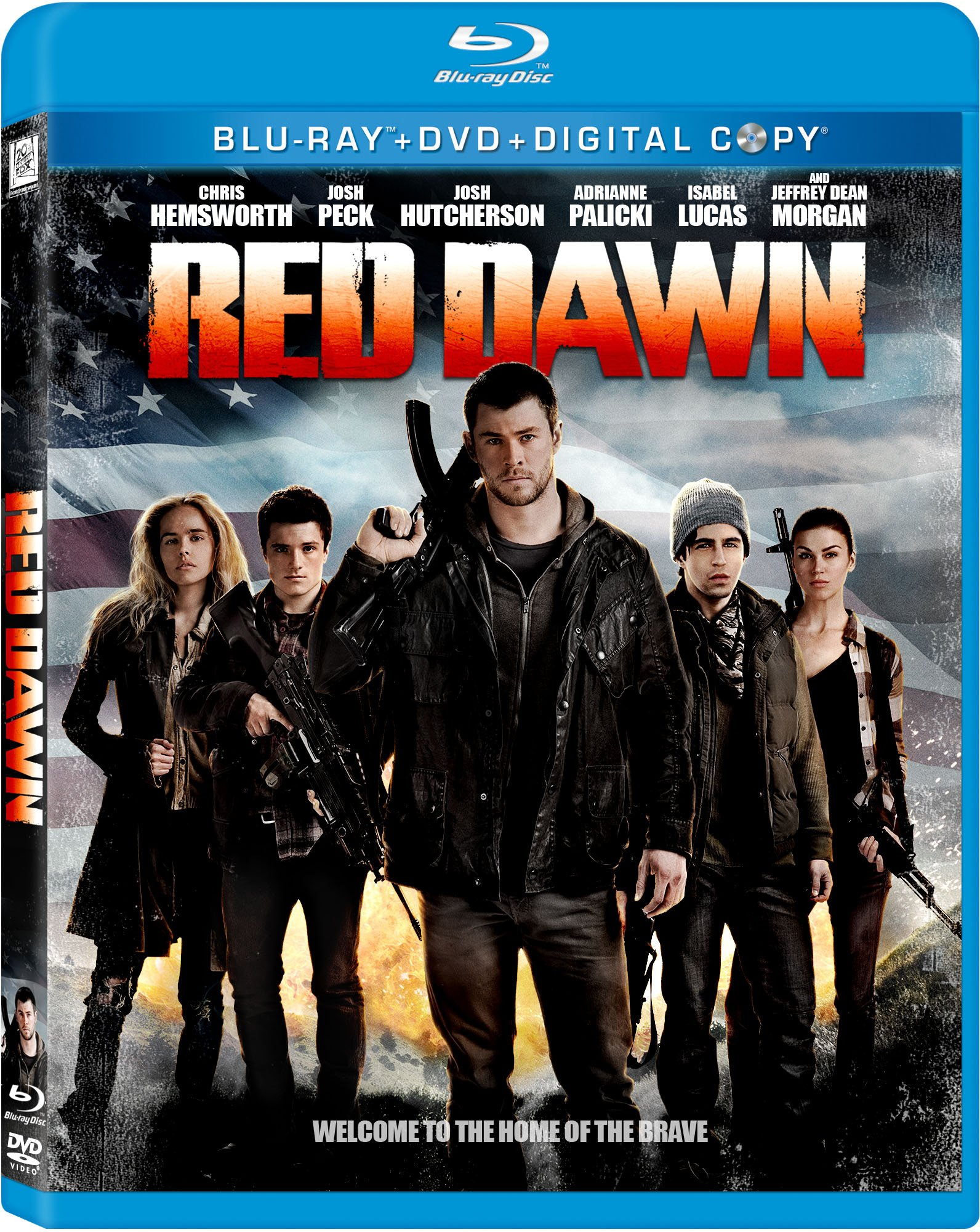 Blu-ray : Red Dawn (With DVD, , AC-3, Digital Theater System, Widescreen)