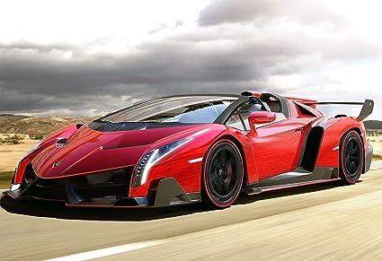 Lamborghini Veneno Roadster Poster 13x19u0026quot;   USA Seller
