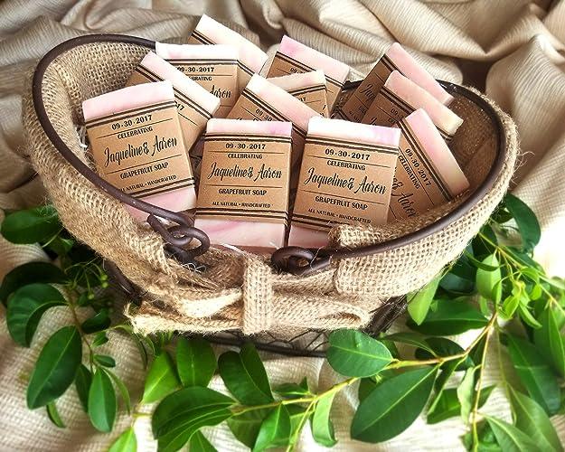Amazon.com: Soap Wedding Favors Personalized, Rustic Wedding Favors ...