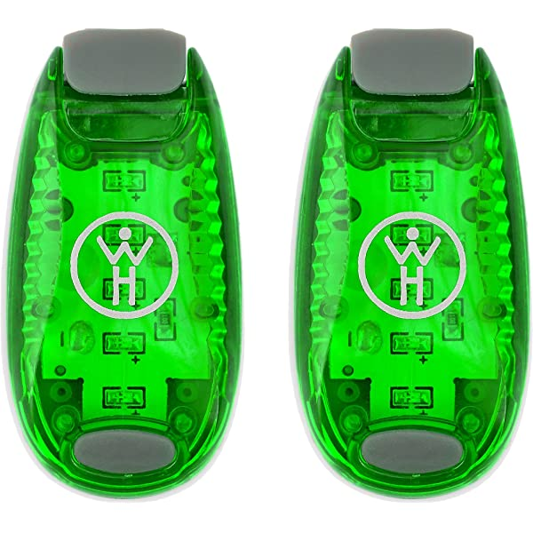 LED Safety Light Nighttime Visibility for Runners Cyclists Walkers Joggers SC CA