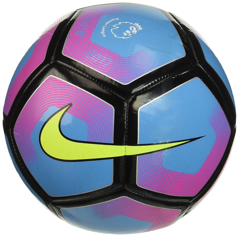Nike Pitch-PL Balón, Unisex Adulto, Azul (Cyan/Pink Blast/Volt), 5 ...