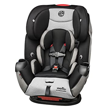 Evenflo Symphony Platinum LX All In One Convertible Car Seat Lunar Skies