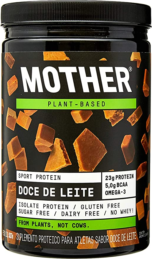 Proteína Isolada Vegan Sport Protein - Sabor Doce de Leite, Mother