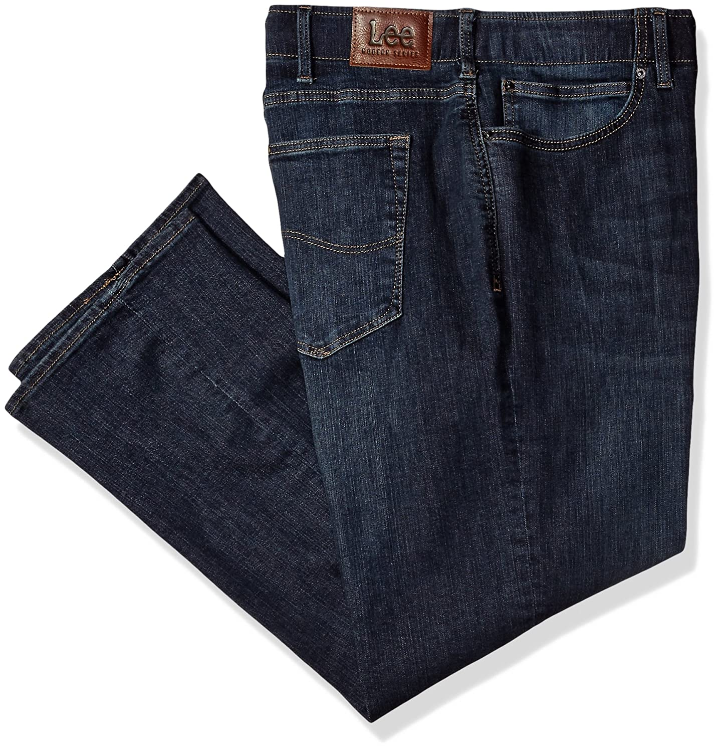 Lee Mens Big-Tall Big-Tall Modern Series Extreme Motion Straight Fit Jean Lee Men's Sportswear 21050