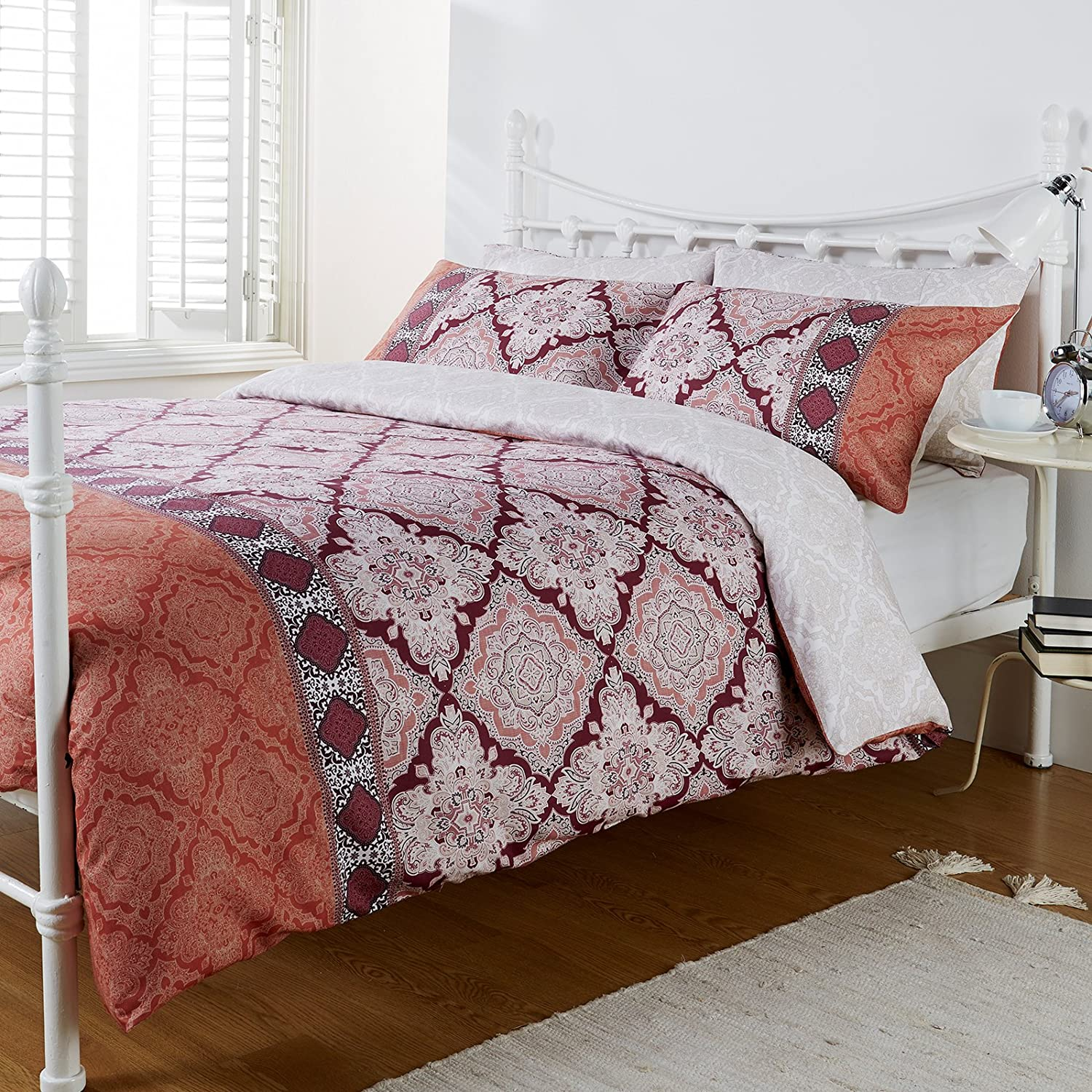 Hummingbird Bed Linen Part - 45: Hummingbird Agadir Spice Tile Ethnic Moroccan Double Duvet Quilt Cover  Bedding Set: Amazon.co.uk: Kitchen U0026 Home