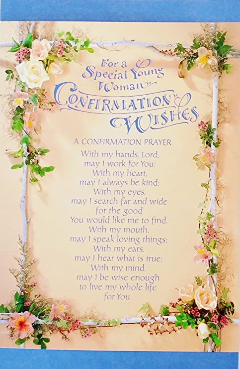 On Your Confirmation Day Card ~ Nice Quality Card ~ Modern Design