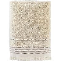 SKL Home by Saturday Knight Ltd.  Jude Fringe Bath Towel, Taupe