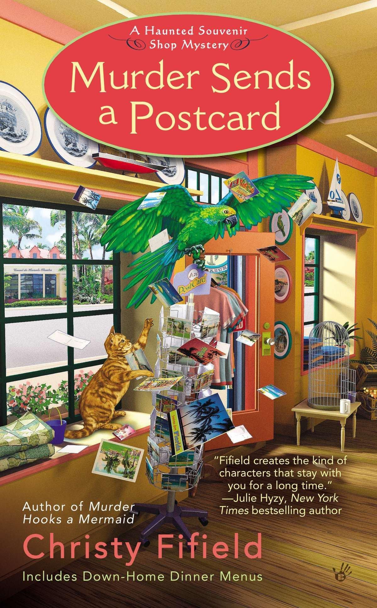 Murder Sends a Postcard (Haunted Souvenir Shop) ebook