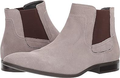 4d3f7b32da5f Amazon.com | Calvin Klein Men's Cadman Suede Toffee 8 M US | Shoes