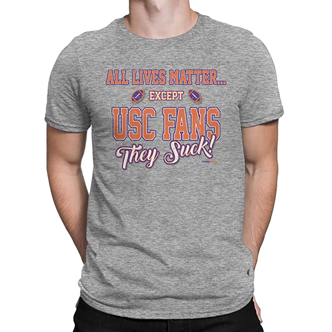separation shoes 821a5 159b3 Rival Gear Clemson Tigers Fan T-Shirt, All Lives Matter by ...