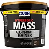 USN Hyperbolic Mass All-In-One Gainer Shake Powder, Chocolate, 6 kg