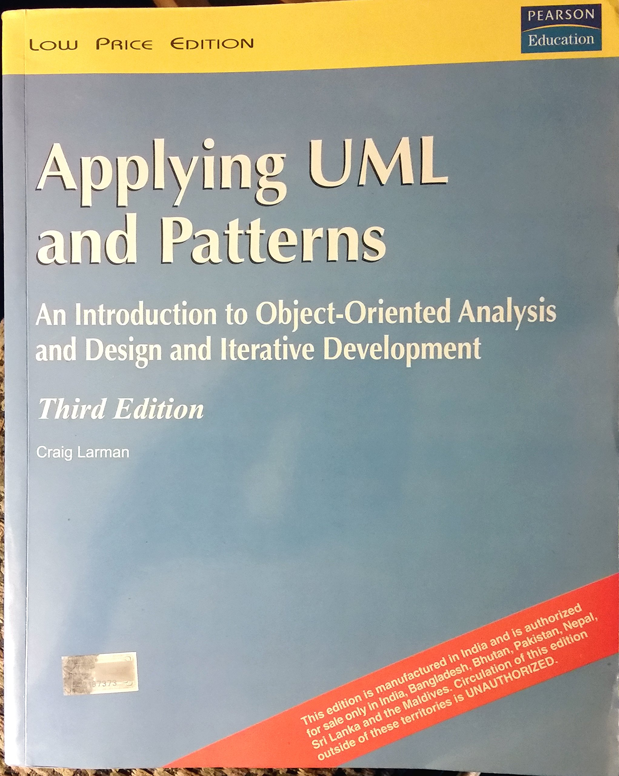 Buy Applying UML and Patterns: An Introduction to Object-Oriented ...