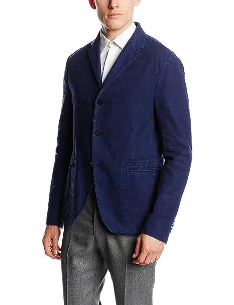 Calvin Klein Jeans Antano Gm Washed Blazer Abrigo Impermeable Para