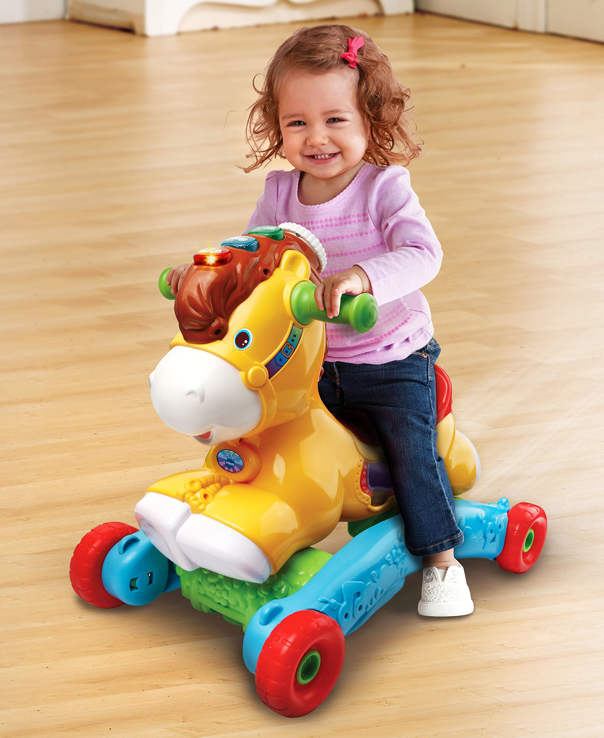 VTech Gallop and Rock Learning Pony (Frustration Free Packaging) by VTech (Image #6)