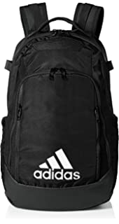 891c16192 Amazon.com : adidas Team Speed Backpack, Black, One Size Fits All ...