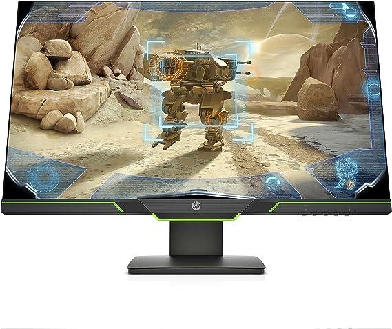 HP Monitor Gaming TN, Micro-Edge, Tecnología AMD FreeSync Negro Negro 27