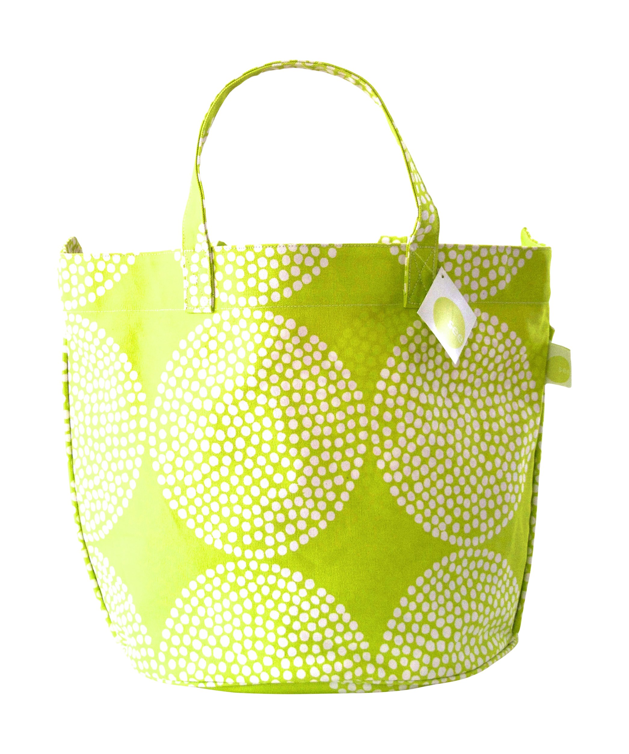 See Design Big Wheels Circle Tote, Citron, One Size
