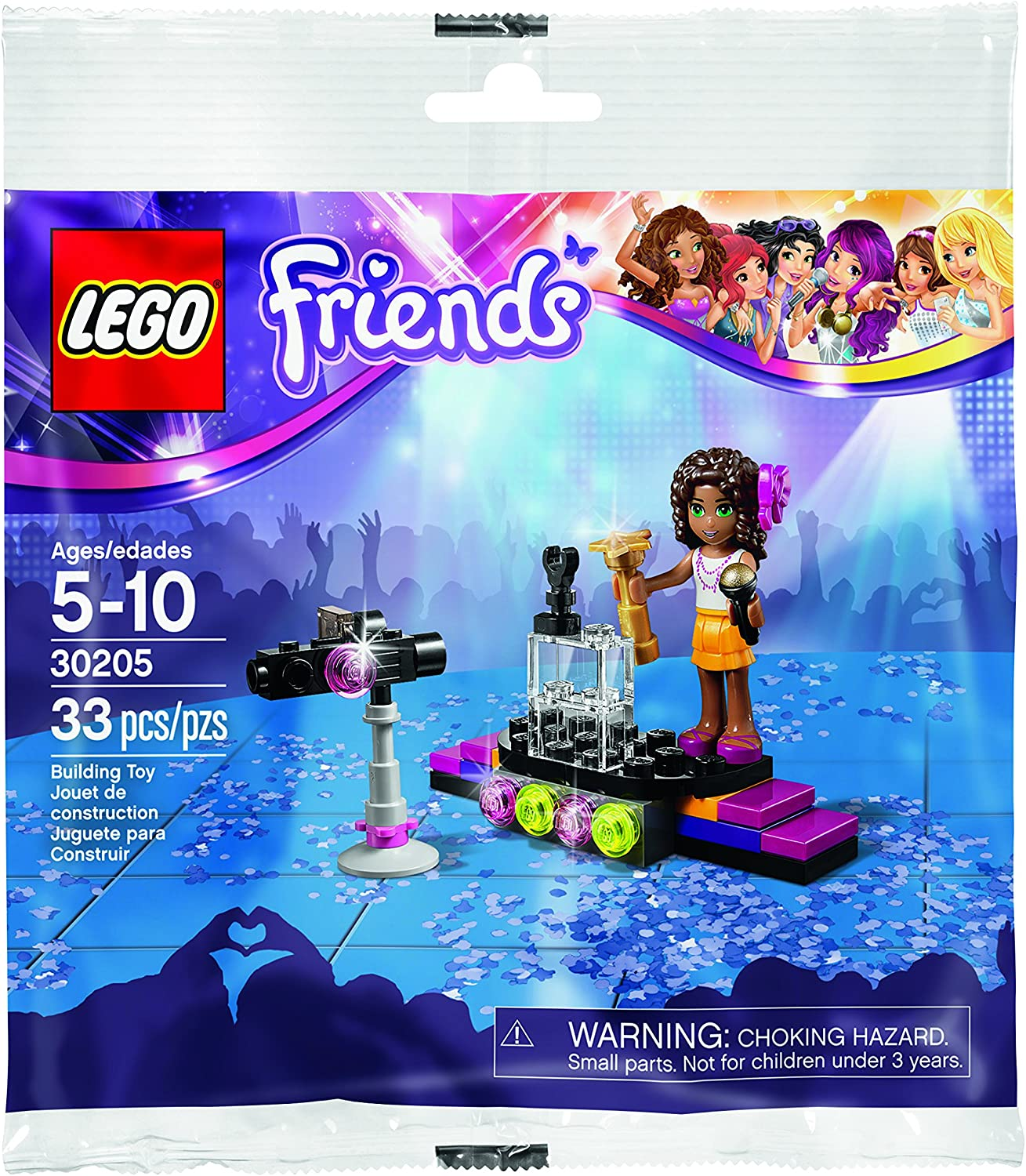 LEGO Friends 30205 Pop Star Andrea New 2015