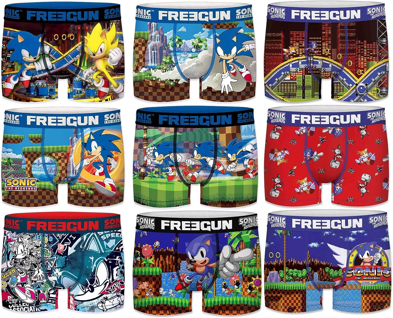 Boxer unitario Sonic The Hedgehog para Hombre FREEGUN Talla M