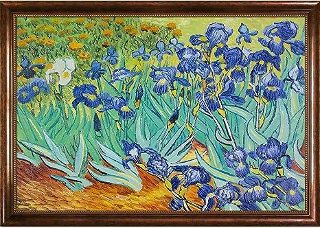 Hand Painted Reproduction Of Van Gogh Irises Oil Paintings Paintings