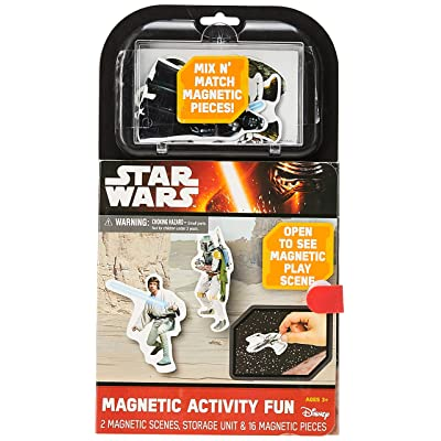 Star Wars Magnetic Activity Fun Play Set: Toys & Games
