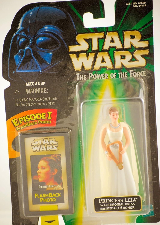 Amazon.com: POTF2: Princess Leia in Ceremonial Gown: Toys & Games