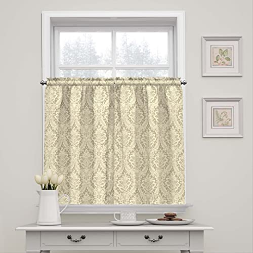 Editors' Choice: WAVERLY Donnington-Rod Pocket Curtains for-Kitchen and-Bathroom