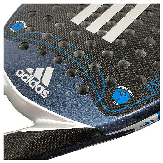 adidas Pala Pádel Essex Carbon Attack 1.8 Silver: Amazon.es: Deportes y aire libre