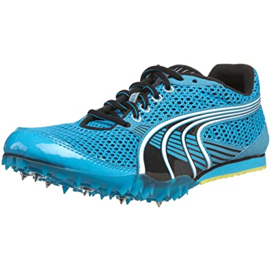 reputable site fba0a 8b059 PUMA Women's Complete TFX Sprint 3 Track Spike,Fluorescent Blue/Black/White,