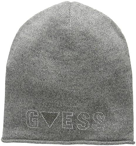 GUESS, MARIA RITA HAT - W63Z56Z0GM0 - Cappello da donna, colore em94 grey melange, taglia M