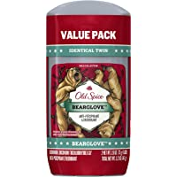 Old Spice Wild Collection Invisible Solid Antiperspirant and Deodorant, Bearglove, 2 Count