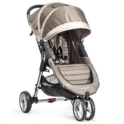 Baby Jogger City Mini 3 - Silla de paseo, color arena/piedra