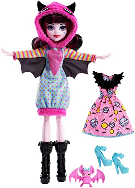 Monster High Howling Hoodies Draculaura Doll  sc 1 st  Amazon.com : draculaura halloween costumes  - Germanpascual.Com