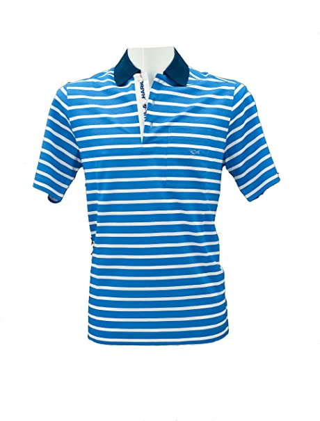 PAUL & SHARK - Polo Azul Claro S: Amazon.es: Ropa y accesorios